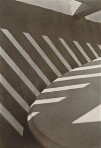 Abstraction, Porch Shadows, Connecticut by Paul Strand