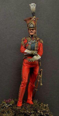 Officer, 2nd Regiment, Lancers of the Guard (Red Lancers, or Dutch Lancers)