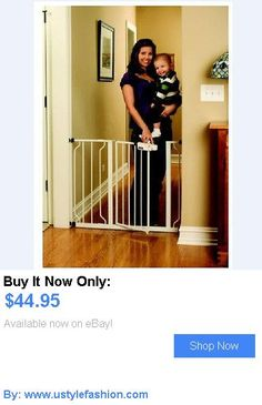 Baby Safety Gates: Regalo Easy Step Walk Thru Gate Safety Fence White Baby  Infant Pet