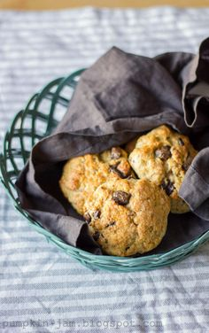 Chocolate Chips and Orange Scones