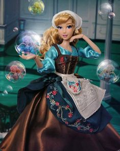 Importco Deluxe Once Upon a Time Storybook Sleeping Beauty Doll