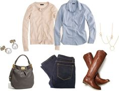 """OOTD - 1/4/13"" by lizzi43 ❤ liked on Polyvore"