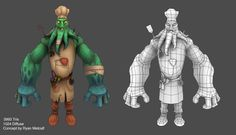 Polycount Forum - View Single Post - Show your hand painted stuff, pls!