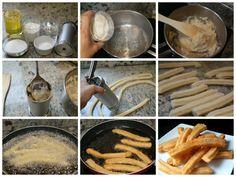 churros-caseros-preparación