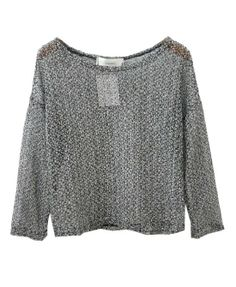 Long Batwing Sleeves Hollow Out Pullover - Knitwear - Clothing