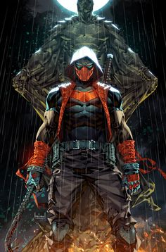 Red Hood Comic, Red Hood Dc, Batman Red Hood, Red Hood Wallpaper, Red Hood Jason Todd, Hq Marvel, Arte Dc Comics, Batman Universe, Comics Universe