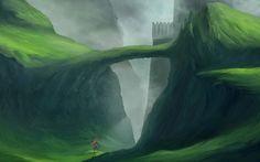 The Dark Castle by *ChristianGerth on deviantART