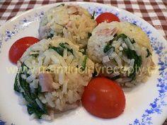 Špenátové rizoto No Salt Recipes, Grains, Clean Eating, Food, Diet, Kitchens, Eat Healthy, Healthy Nutrition, Essen