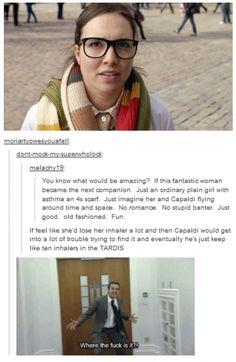 Moffat, please let this happen! Language sorry