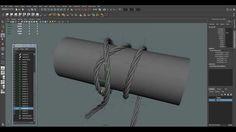 Maya Tutorial: Creation Wires, Rope