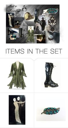 """""""Lost & Looking"""" by weelambievintage ❤ liked on Polyvore featuring art, vintage, Dark, etsy and fashions"""