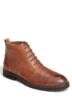 3aeed1568 Florsheim  Gaffney  Wing Tip Boot