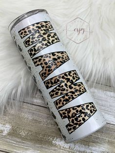 Excited to share this item from my #etsy shop: Leopard mama sublimation tumbler 20oz Glitter Tumblr, Custom Cups, Tumbler Designs, Cricut Creations, Custom Tumblers, Tumbler Cups, Epoxy, Crafts For Kids, Diy Ideas