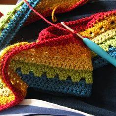 Crochet For Children: Cosy Stripe Blanket Tutorial