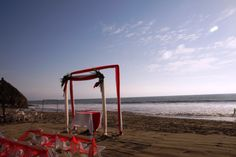 Boda al atardecer en la Playa