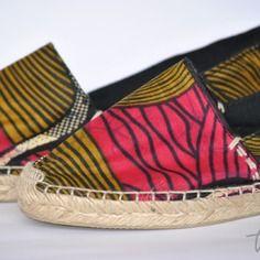Touba espadrilles africaines
