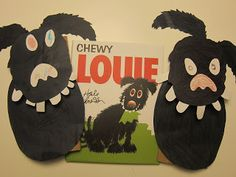 Adventures in Reading With Kids: Chewy Louie. loving our pets