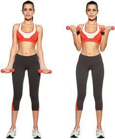 Exercices pour de beaux bras et de jolies épaules