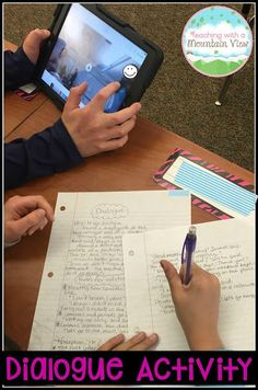 Teaching quotation marks and dialogue is made incredibly engaging with this fun activity!