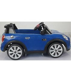 Mini Cooper HATCH  azul 12v infantil con mando