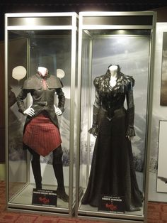Hollywood Movie Costumes and Props: Famke Janssen's Muriel witch costume from Hansel & Gretel Witch Hunters on display... Original film costumes and props on display