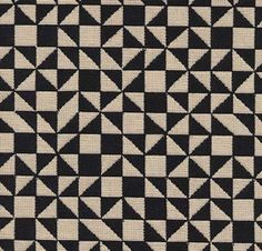 """Checker Split"" fabric by Alexander Girard, 1965"