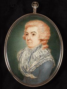 Chevalier D'Eon, Henry Bone   Philip Mould & Company