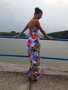 0a520d6fa9c2 SUMMER DRESS 2013 FLOWERS   veronikaIN FASHION - SAShE.sk - Handmade Šaty