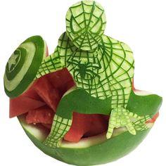 Spiderman Watermelon