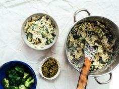 Creamy Vegan Pesto Pasta With Broccoli Recipe - Genius Kitchen
