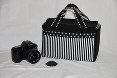 Kameratasche für Spiegelreflex- oder Bridgekamera von EasyDesign auf DaWanda.com