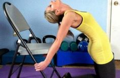 Yoga poses & stretches to combat poor posture and rounded shoulders Posture Exercises, Back Exercises, Training Exercises, Workouts, Exercises For Rounded Shoulders, Wods Crossfit, Fitness Tips, Health Fitness, Bad Posture