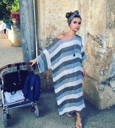 Miroslava Duma that looks incredibly comfortable Estilo Street, Vestido Dress, Diy Vetement, Boho Fashion, Womens Fashion, Fashion Mode, Fashion Outfits, Miroslava Duma, Look Chic