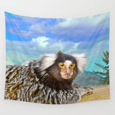 Missis Elsie Wall Tapestry by crismanart Wall Tapestries, Tapestry, Wall Hangings, Outdoor Walls, Indoor Outdoor, Vivid Colors, Favorite Color, Picnic Blanket, Tablecloths