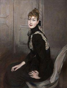 Giovanni Boldini - Ritratto della marchesa Franzoni