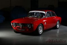The crew from Alfaholics transformed a humble 1968 Alfa 1300 GT Junior, into this gorgeous Alfaholics GTA-R.