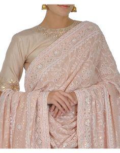 Nude Pink Chikankari Dupatta With Gota Patti Top And Tissue Skirt Designer Dress For Men, Indian Designer Wear, Designer Dresses, Pakistani Outfits, Indian Outfits, Fashion Bazaar, India Fashion, Women's Fashion, Feminine Fashion