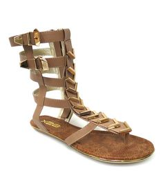 Loving this Nude Delta Gladiator Sandal on #zulily! #zulilyfinds