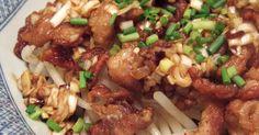 シャキシャキのもやしとカリカリの豚に、ねぎソースがよく合います。温かいうちも冷めても美味しいです。