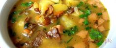 Traditionelle Kartoffelsuppe