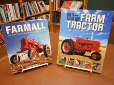 2 Book Set Farmall Red Tractor History Farming How to Restore Farm - http://books.goshoppins.com/history/2-book-set-farmall-red-tractor-history-farming-how-to-restore-farm/