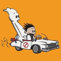 Calvin and Hobbes Mashups Ghostbusters