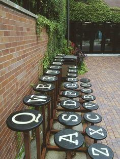 typewriter stools