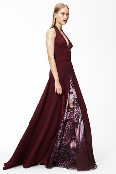 Monique Lhuillier Pre-Fall 2015 Fashion Show - Eva Berzina