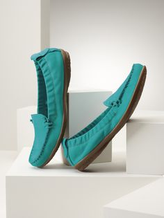 Hush Puppies style Ceil-Great turquoise! Look so comfy!