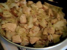 Chicken bacon ranch cabbage