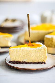 Mango, Cheesecake, Baking, Sweet, Smoothie, Recipes, Cook, Cakes, Pies