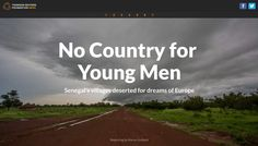 No Country for Young Men, Thomson Reuters Foundation