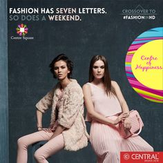We hope you read between the lines & crossover to FashionInHD this weekend with us! #Central #CentreSquare