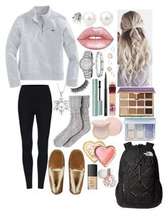 """School 57"" by ella-goodness on Polyvore featuring UGG, tarte, Maybelline, Too Faced Cosmetics, MAC Cosmetics, Lime Crime, Bling Jewelry, The North Face, Anastasia Beverly Hills and NARS Cosmetics Check our selection UGG articles in our shop!"